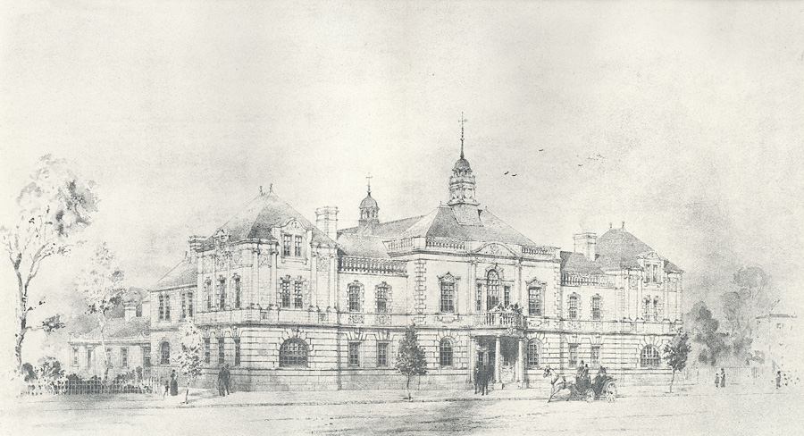 Selected design: Llandudno municipal buildings
