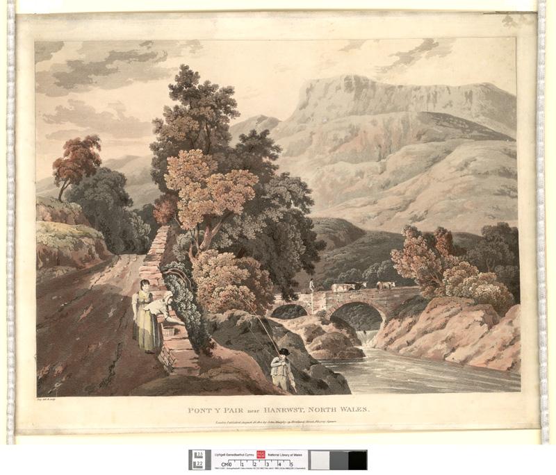 Pont y Pair near Hanrwst, north Wales