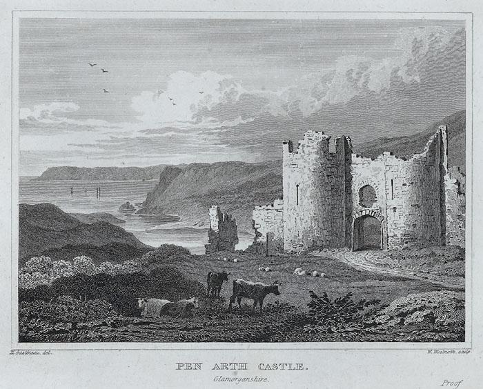 Pen arth castle