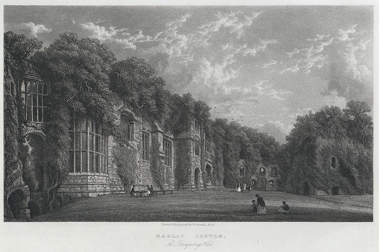 Raglan Castle, the Banqueting Hall