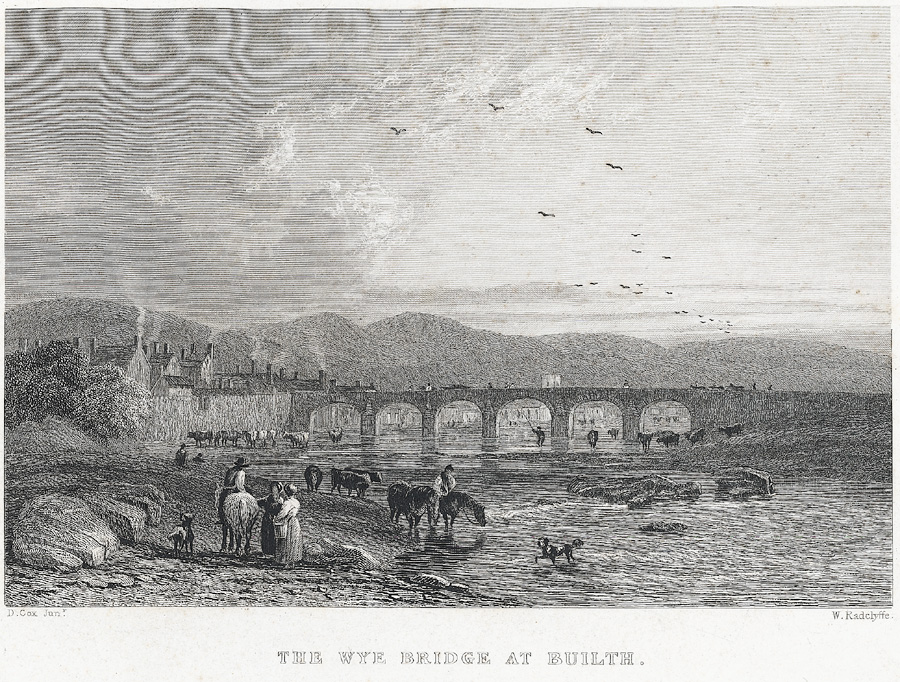 The Wye bridge at Builth