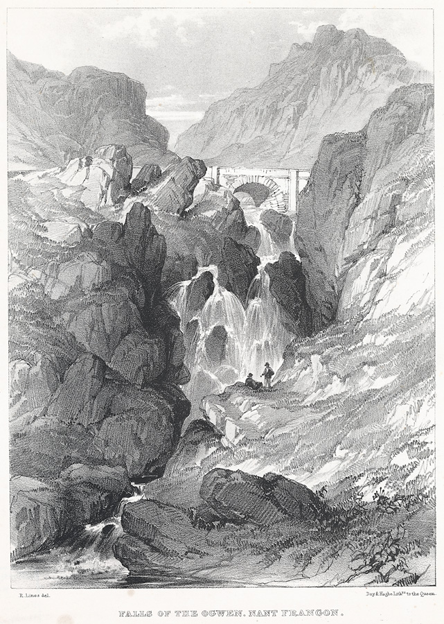 Falls Of The Ogwen, Nant Frangon