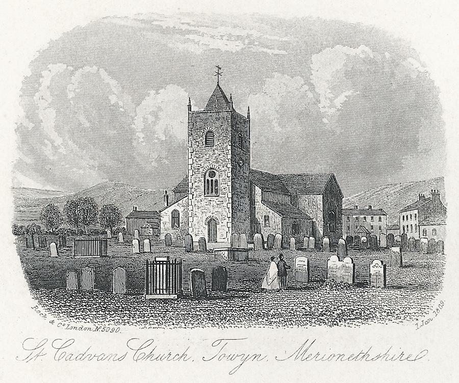 St. Cadvan's Church, Towyn, Merionethshire