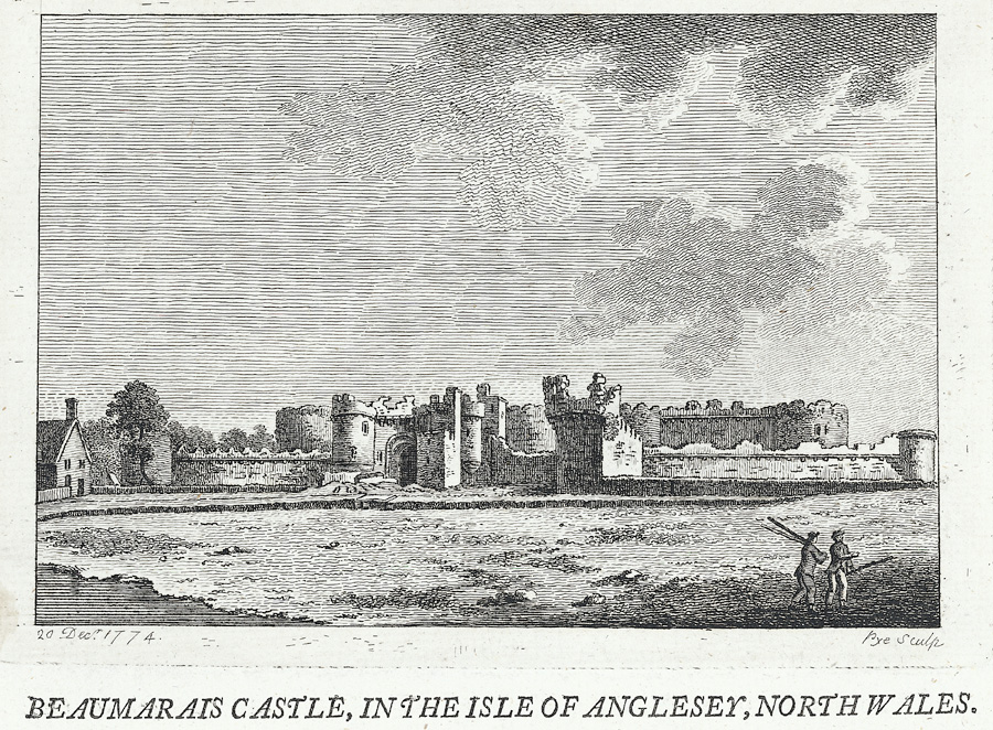 Beaumarais Castle, in the Isle of Anglesey, north Wales