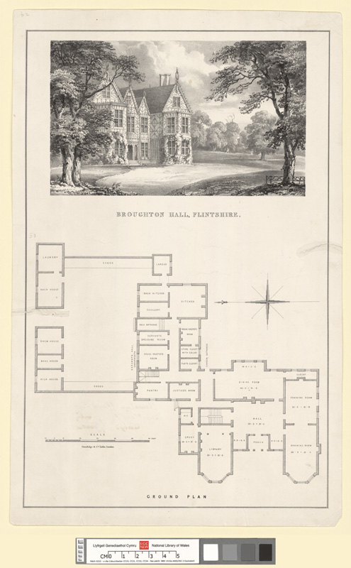 Broughton Hall, Flintshire