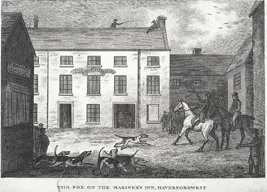 The Fox on the Mariner's Inn, Haverfordwest