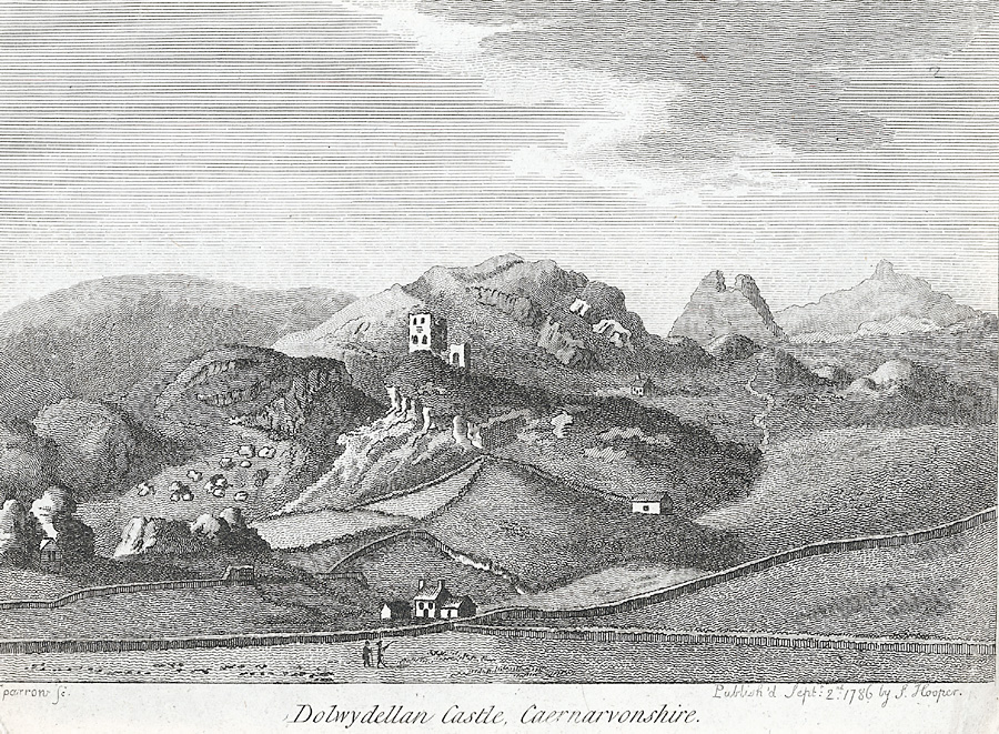 Dolwydellan Castle, Caernarvonshire