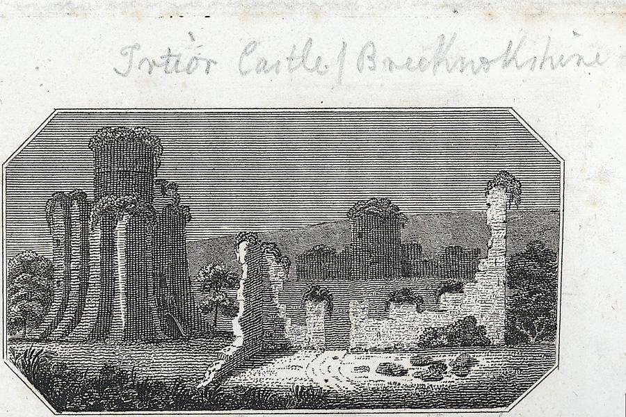 [Tretwr Castle, Brecknockshire]
