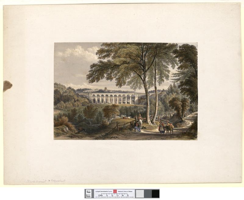 [Chirk Viaduct - Shrewsbury & Chester Railway]