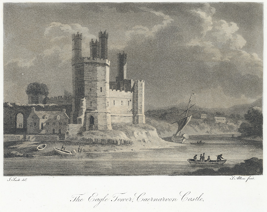 The Eagle Tower, Caernarvon Castle
