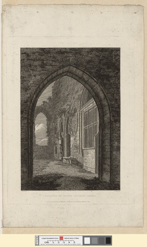 Entrance to Bishop Vaughan's Chapel April 10 1810
