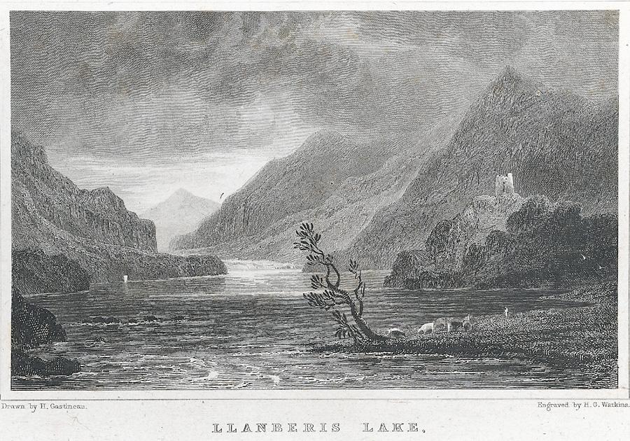 Llanberis Lake, Caernarvonshire