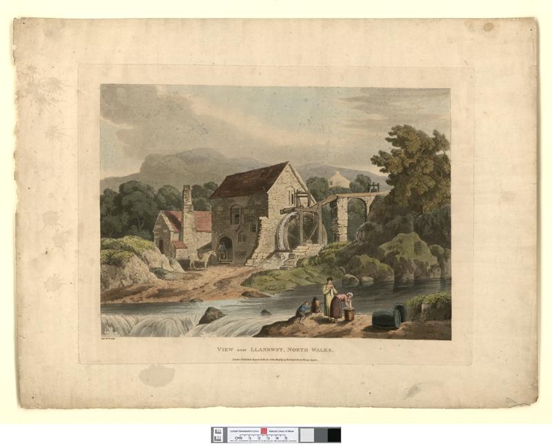 View near Llanrwst, North Wales