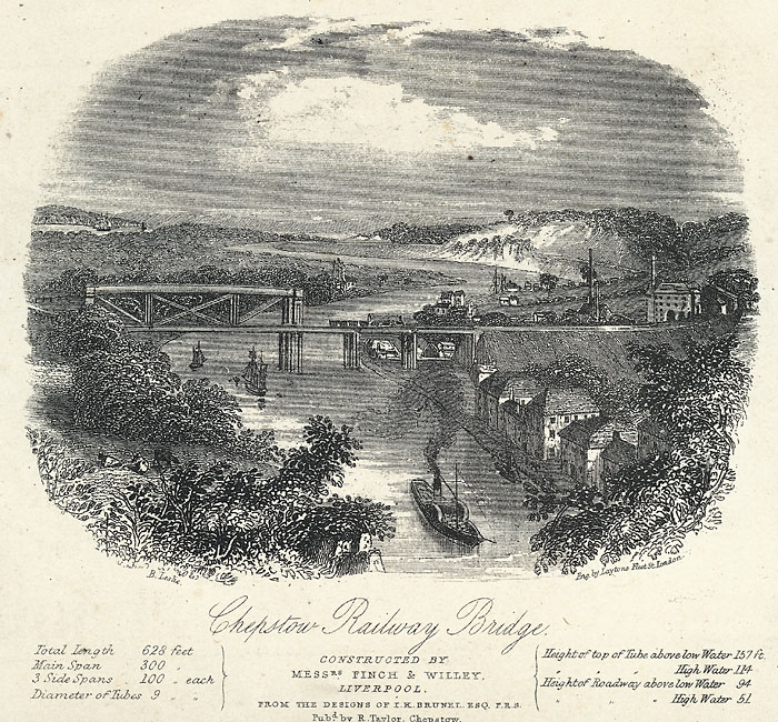 Chepstow railway bridge