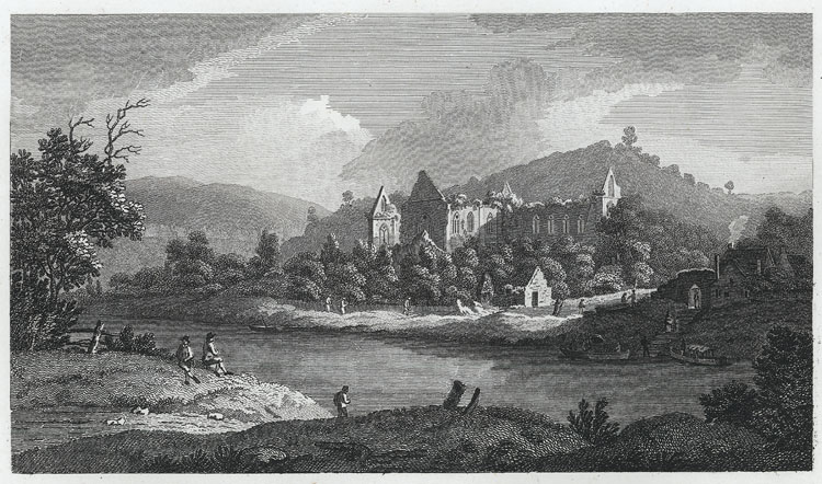 [Tintern Abbey, From the Ferry]