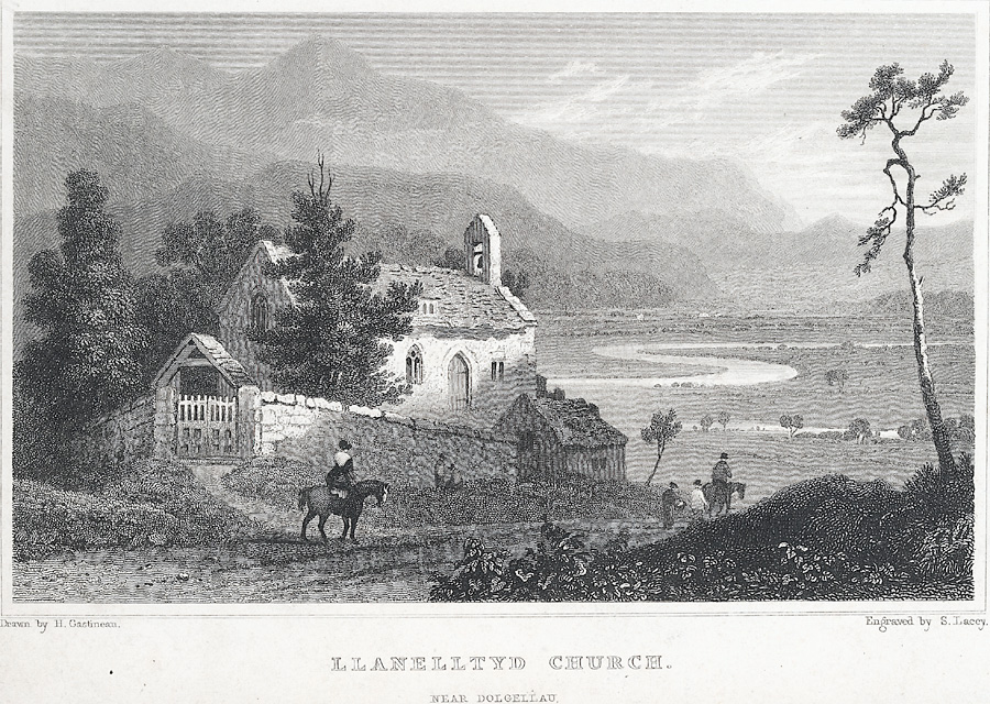 Llanelltyd Church
