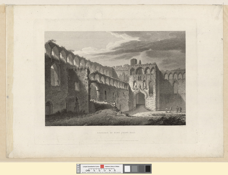 Entrance of King John's Hall Jany 26th 1811