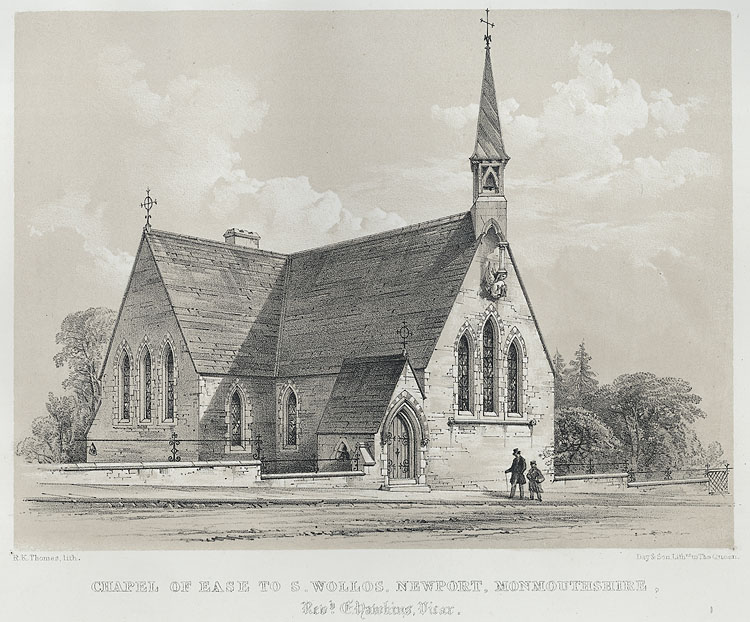 Chapel of Ease to S. Wo[o]llos, Newport