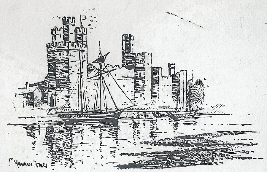 [Caernarvon Castle]