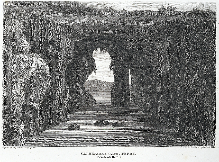 Catherine's Cave, Tenby