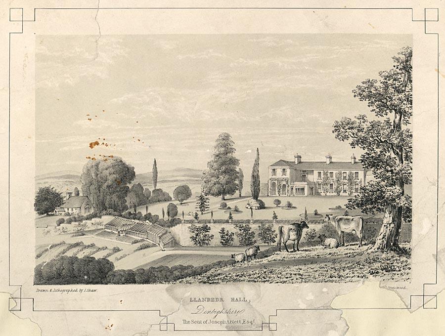 Llanbedr Hall, Denbighshire