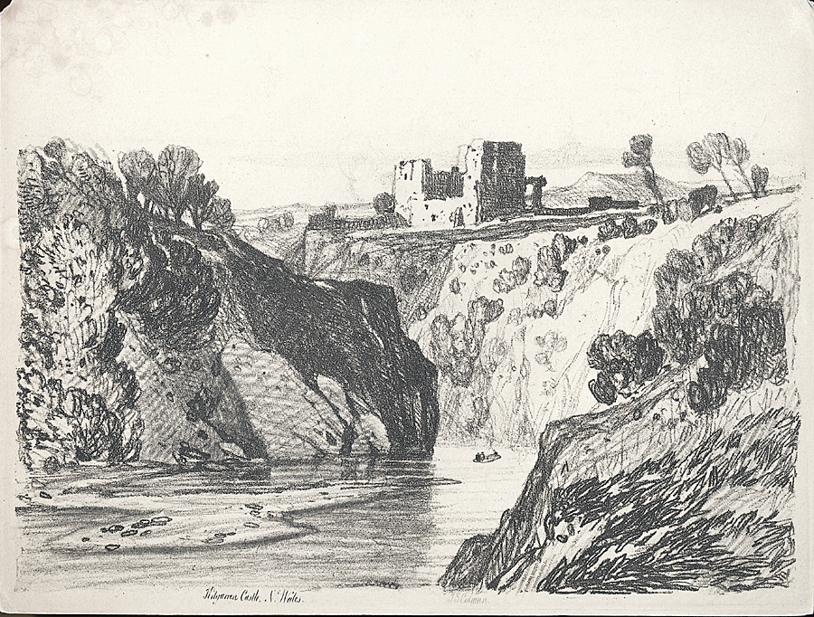 Kilgarren Castle, N.Wales