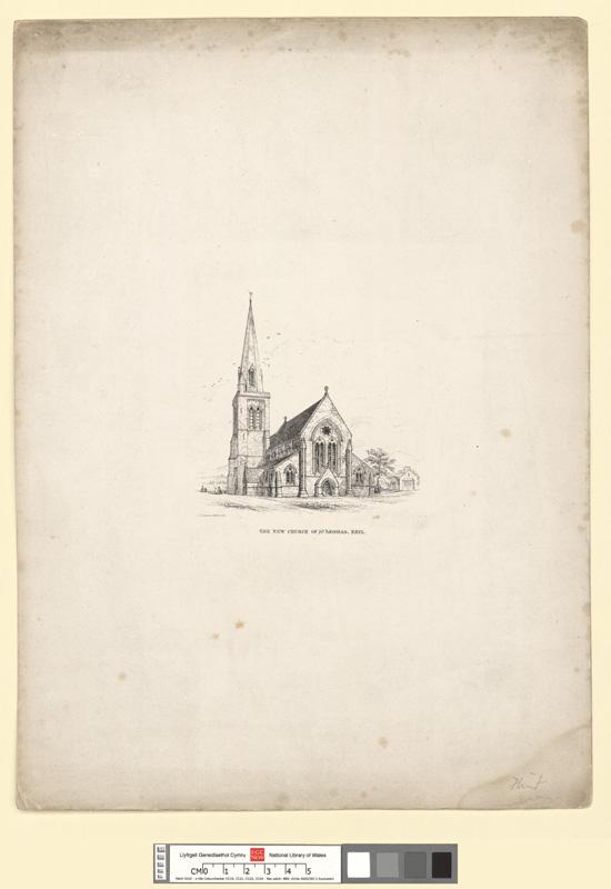 The new church of St. Thomas, Rhyl
