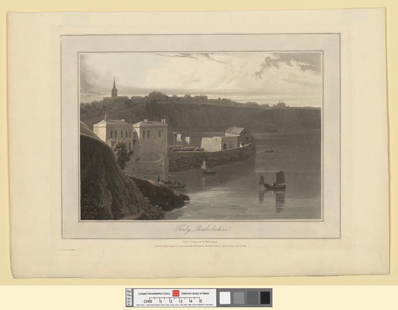 Tenby, Pembrokeshire Septr 1st 1814