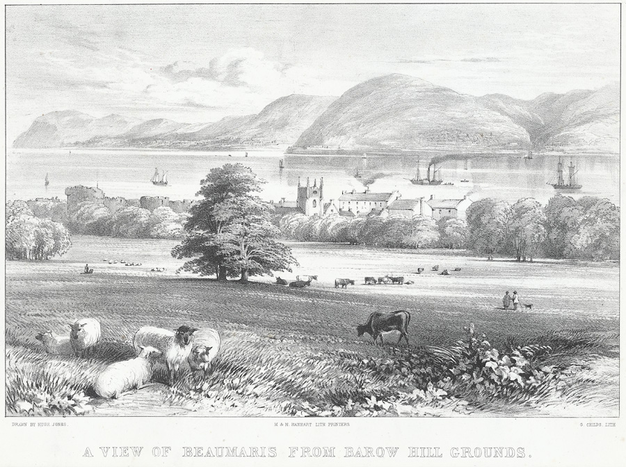 A view of Beaumaris