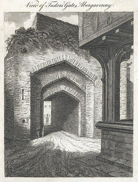 View of Tudors gate, Abergavenny