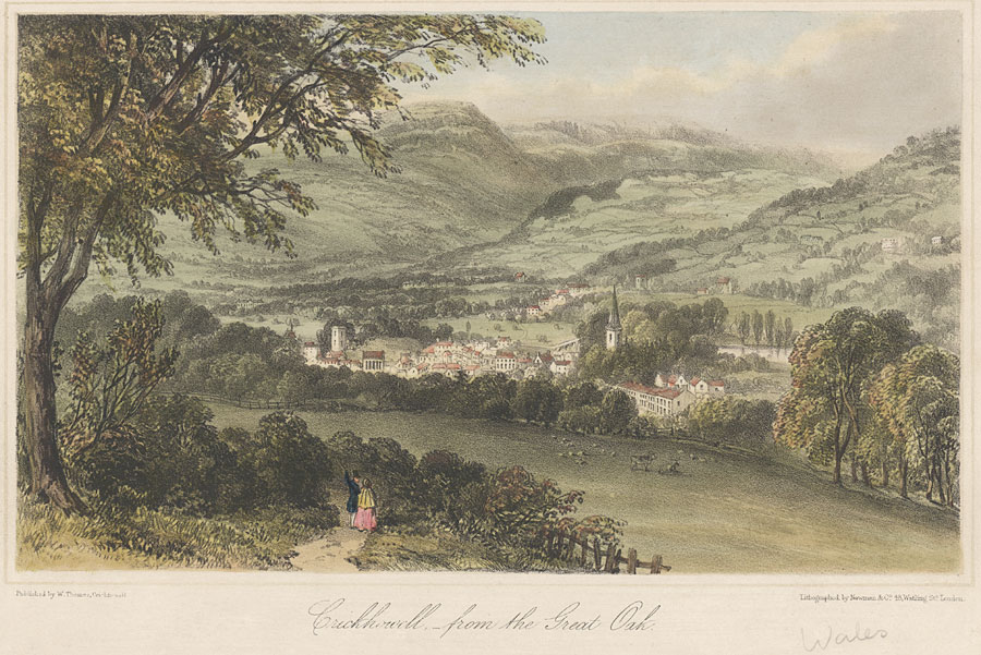 Crickhowell, from the Great Oak