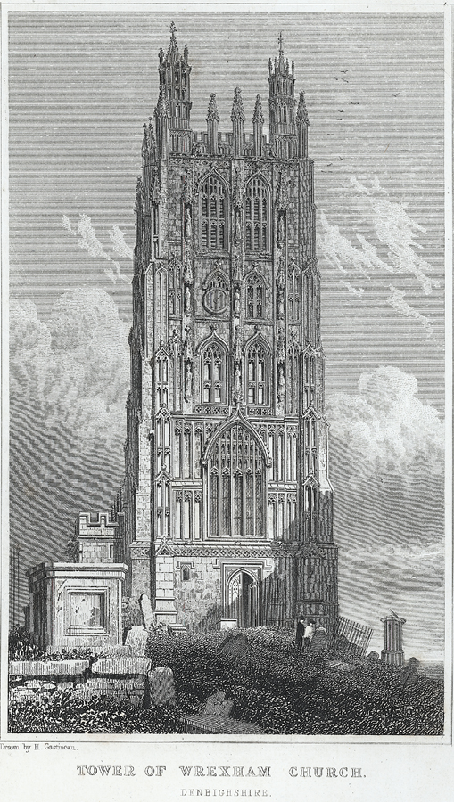 Tower of Wrexham church, Denbighshire