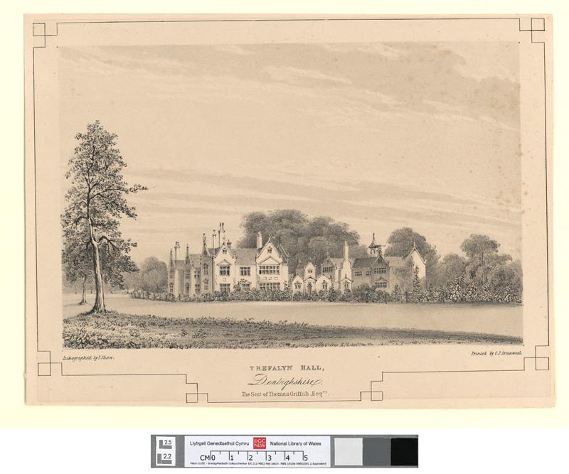 Trefalyn hall, Denbighshire