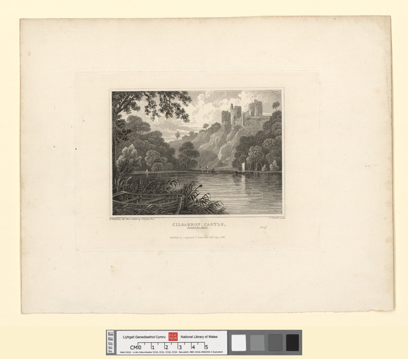 Cilgarron Castle, Pembrokeshire July 1 1824