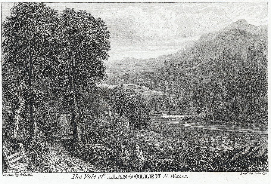 The vale of Llangollen N. Wales