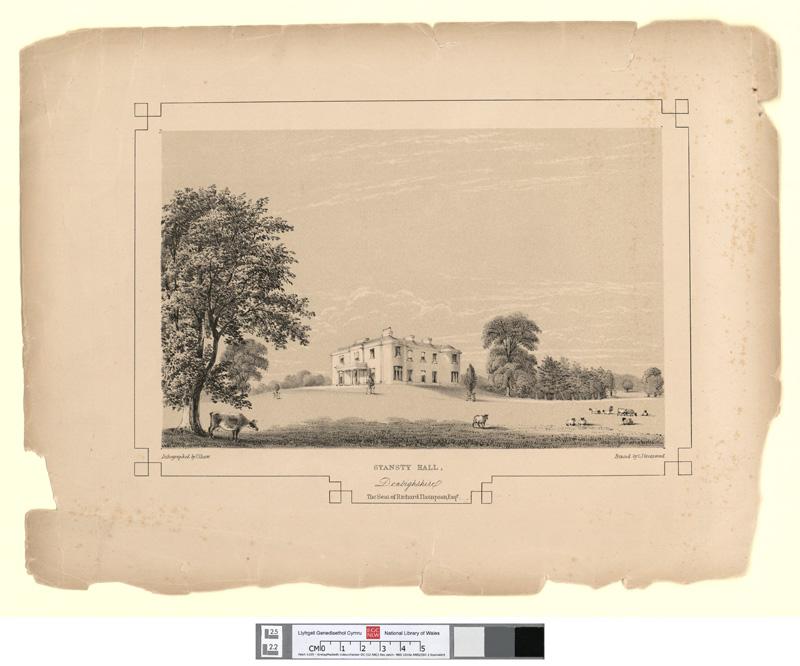 Stansty Hall, Denbighshire