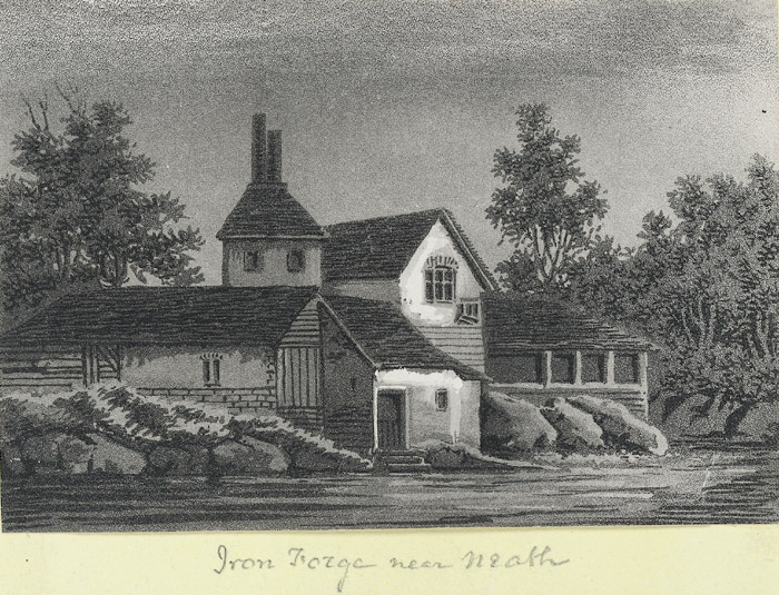 Iron forge, near Neath