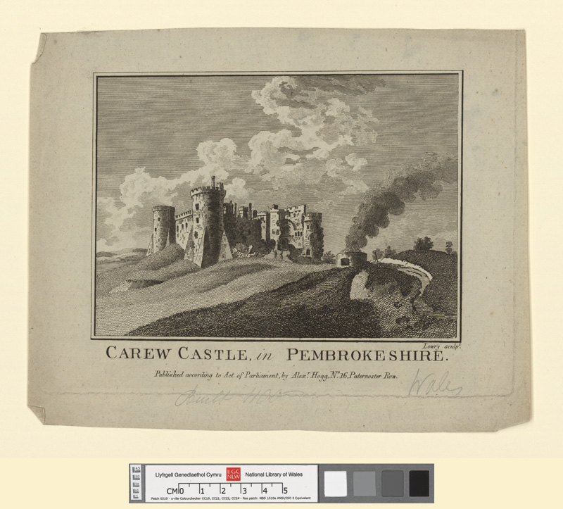 Carew castle, in Pembrokeshire