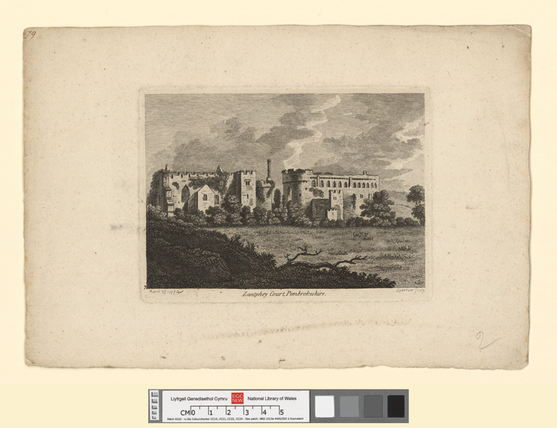 Lantphey Court, Pembrokeshire April 27 1774