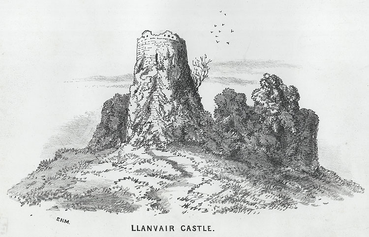 Llanvair Castle