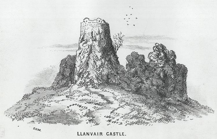 Llanvair Castle