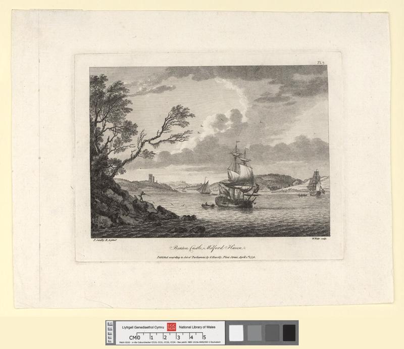 Benton Castle, Milford Haven April 1st 1778