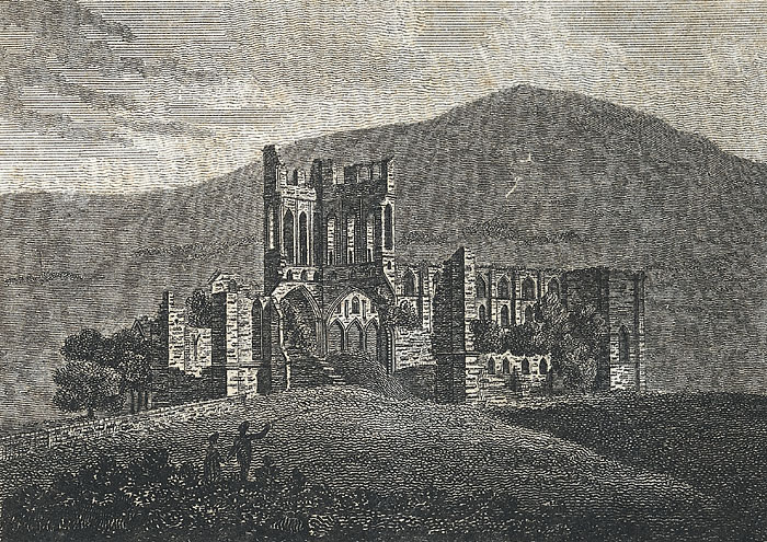 Llanthony Abbey, Monmouthshire