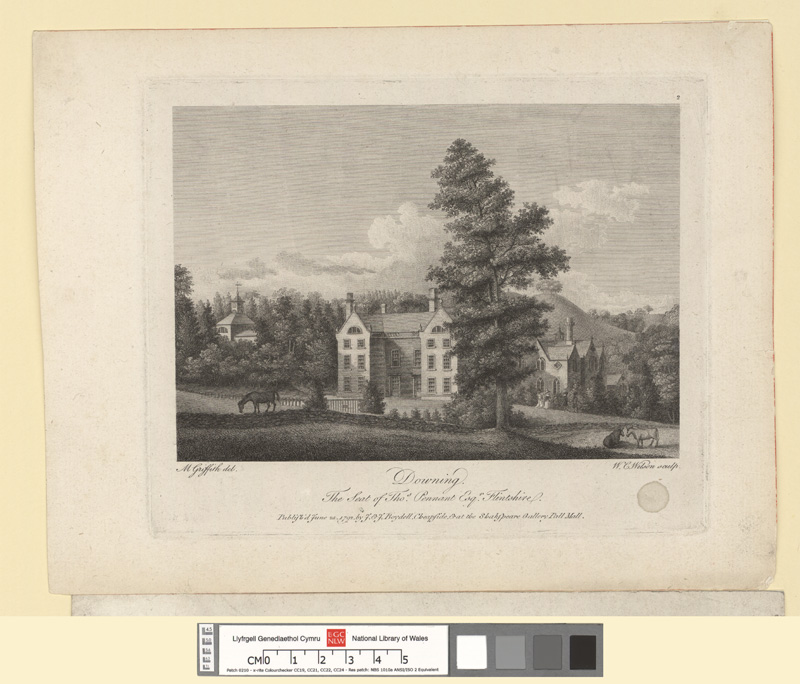 Downing. The Seat of Thos. Pennant Esqr., Flintshire
