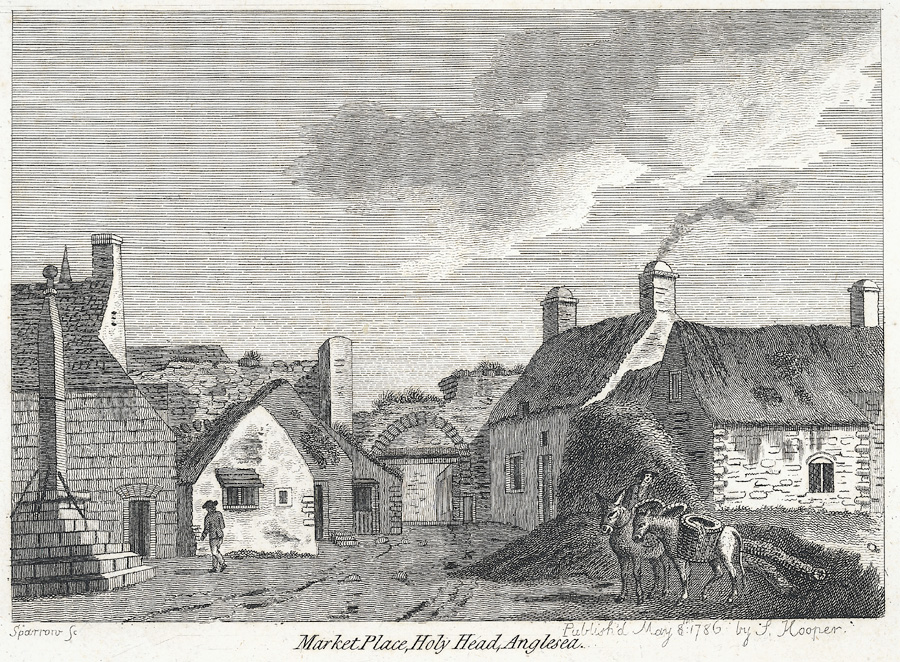 Market place, Holy Head, Anglesea