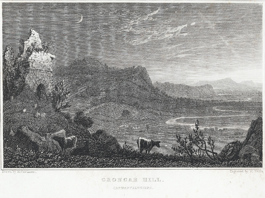 Grongar Hill, Carmarthenshire