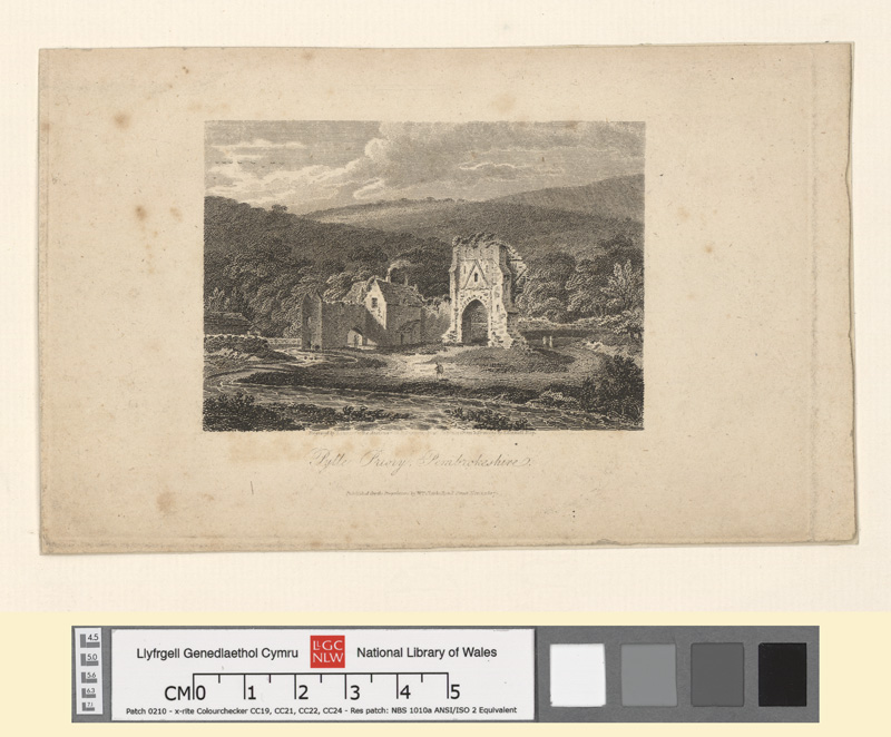 Pylle Priory, Pembrokeshire Nov 1 1807