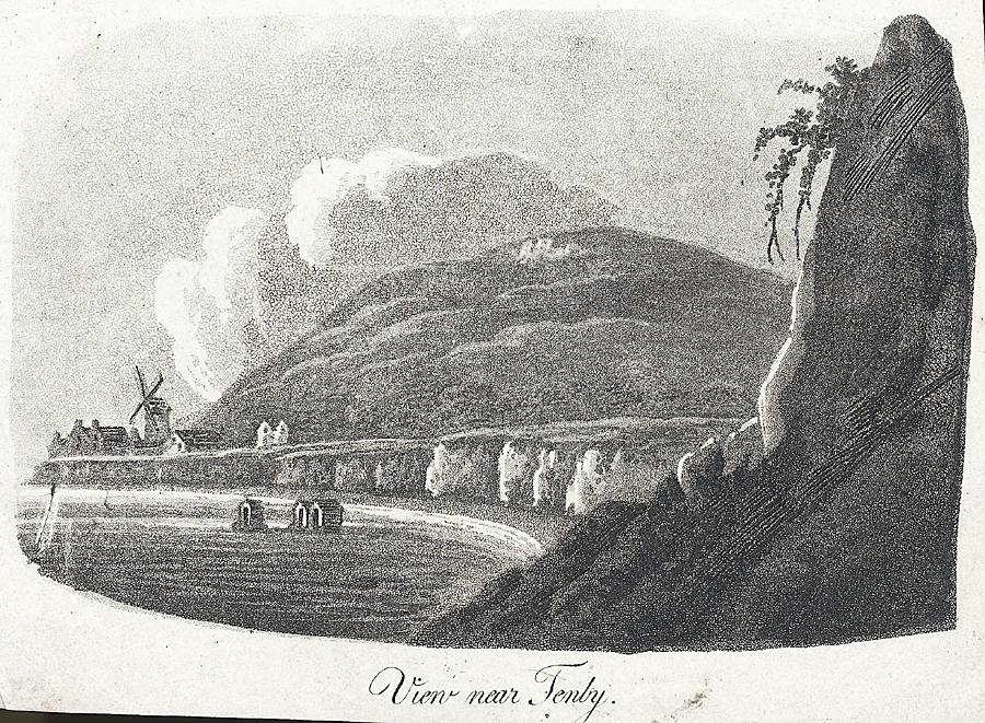 View near Tenby