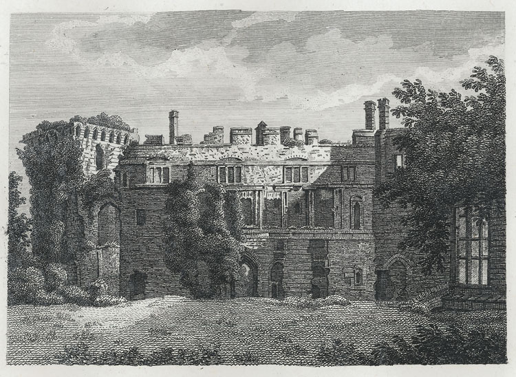[Inside View of Raglan Castle]
