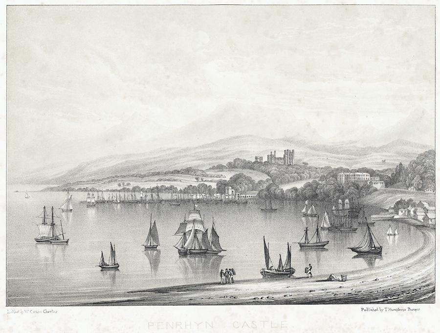Penrhyn Castle from Garth Point